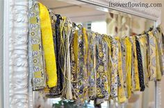 How to Make a Simple Scrap Fabric Banner