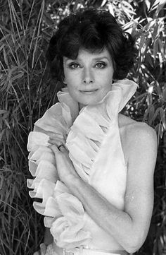 Audrey Hepburn, 1976 - photographed in her Rome apartment