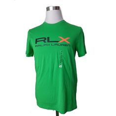 #ebay RLX Ralph Lauren men tee size M graphic short sleeve t-shirt green RalphLauren withing our EBAY store at  http://stores.ebay.com/esquirestore