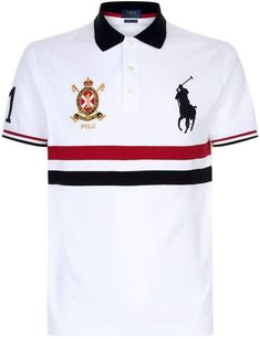 Harrods, designer clothing, luxury gifts and fashion accessories Polo Shirt Outfits, Mens Polo T Shirts, Ralph Lauren Hombre, Polo Ralph Lauren, Camisa Polo, Kurta Pajama Men, Italian Shirts, Polo Shirt Design, Lacoste T Shirt