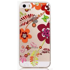 For iPhone 6 4.7 Inch Phone Case Cover Ultra Thin Colorful Flower Color Painted Mobile Phone Accessory Back Case