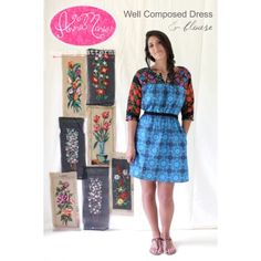 Well Composed Dress & Blouse Pattern