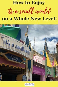 """it's a small world"" is one of the most iconic Walt Disney World attractions. Today, I'm going to show you a different way to enjoy this Magic Kingdom classic. #smallworld #MagicKingdom #DisneyWorldTips"