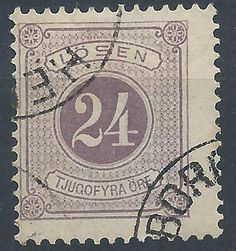 Sweden 24ö Postage Due Facit: L17a.