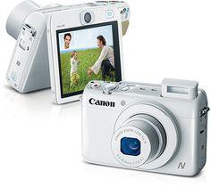 O amor em fotos | High-Tech Girl  PowerShot N100, da Canon