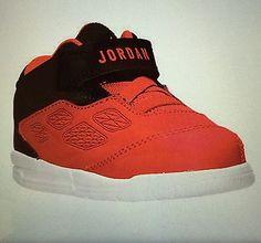 Baby Boys Girls Jordan Mid 1 Basketball Shoes Toddler Size 8