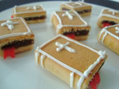 Cute Bible snack idea made out of fig newtons and fruit roll ups! So cute :)