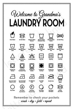 7 Best Images of Printable Laundry Care Symbol Chart - Free Printable Laundry Symbols Guide, Laundry Guide Symbols and Laundry Symbols Clothing Tag Household Cleaning Tips, Cleaning Checklist, House Cleaning Tips, Diy Cleaning Products, Cleaning Hacks, Cleaning Challenge, Laundry Care Symbols, Diy Casa, Laundry Hacks
