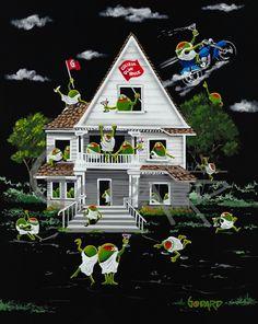 MG Limited Edition Other — Michael Godard Art Gallery & Store Beer Art, Wine Art, Godard Art, Duck Art, Thing 1, Poster Prints, Art Prints, Selling Art Online, Happy Art