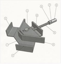 90 Degree Angle Fixturing Clamp Welding Plans