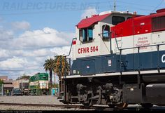 RailPictures.Net Photo: 504 California Northern Railroad NRE 3GS21B-DE at Woodland, California by Marshall K. Starks
