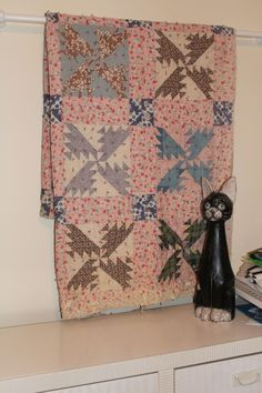old quilt by lottie