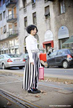 Milan Fashion Week: street Style