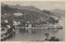 Saluti da Portofino, Genova  ~  Real Photograph ~ Vintage Postcard ~ Posted by CardsbyCollecticFind on Etsy