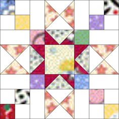 Variation on a variation – Piecemeal Quilts Modern Quilt Blocks, Star Quilt Blocks, Star Quilt Patterns, Star Quilts, Scrappy Quilts, Pattern Blocks, Patchwork Patterns, Quilting Board, Quilting Ideas