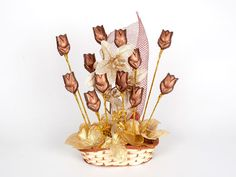 Chocolate Bouquets | Chocolate Gift Baskets Hampers Online ...