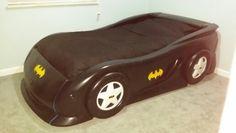 Diy batman bed (little tikes cars bed)