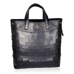 Just Cavalli Handbag Large Leather Shopper Bag (JC174)