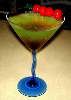 Recipe for a Candy Apple Martini