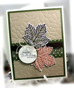 Me, My Stamps and I: Magnificent Maple, Petite Pairs