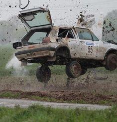 birdsean: Tried to roll down his windows my first deploy w. Car Memes, Car Humor, Rallye Wrc, Volkswagen Golf Mk2, Motosport, Abandoned Cars, Unique Cars, Car Crash, Cars Motorcycles