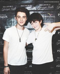 Greyson Chance and.. Greyson Chance? Photoshop maybe??