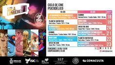 Cartelera Sala Lumiére del ciclo de cine: Psicodélico. Del 18 al 23 de agosto de 2015. Dos funciones: 16:00 y 19:00 horas. Cooperación: $10.00 #Culiacán, #Sinaloa.