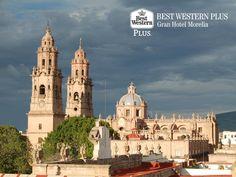 La belleza de una ciudad que perdura. EL MEJOR HOTEL DE MORELIA. La capital michoacana, es una de las ciudades coloniales más hermosas y antiguas de México. La majestuosidad de este lugar ha prevalecido por años y en Best Western Plus Gran Hotel Morelia, le invitamos a sorprenderse con su encanto. Reserve su lugar con nosotros, llamando al (443)3228000. http://www.bestwesternplusmorelia.com.mx