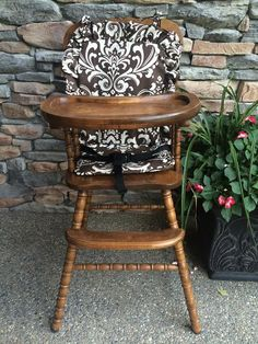 1000 images about wooden baby high chair cover on