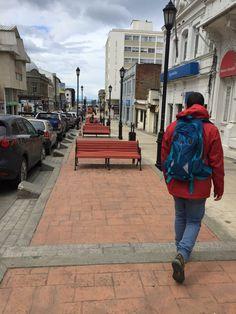 Paseo Julio Roca, ruta Kiosko Roca, Punta Arenas, Chile. Patagonia, Raincoat, Jackets, Fashion, Bicycle Kick, Walks, Restaurants, Food, Rain Jacket