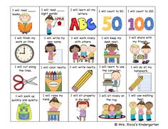 Student Goal Setting Checklist by Mrs. School Goals, Student Goals, Student Data, School Ideas, Kindergarten Goals, Kindergarten Assessment Checklist, Kindergarten Graduation, Formative Assessment, Goal Setting Activities