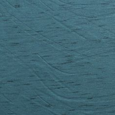Teal Blue Mira Slub Solid Cotton Jersey Blend Knit Fabric
