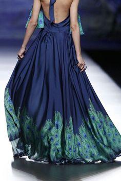 Peacock Couture - Francis Montesinos Spring 2014-15