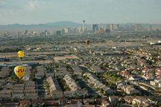 Aerial view of North Las Vegas.
