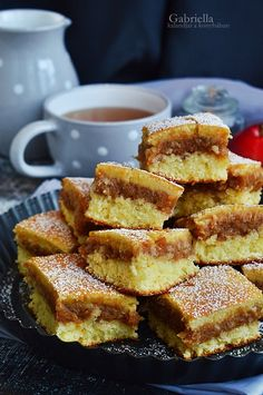 Gabriella kalandjai a konyhában :): Kavart almás Ital Food, Hungarian Recipes, Sweet Cakes, Easy Cooking, Cake Cookies, Sweet Tooth, French Toast, Food And Drink, Sweets