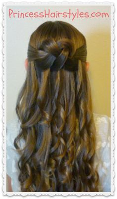 woven knot hairstyle