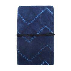 Small Chevron Dyed Journal