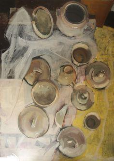 porcelana compositions of porcelain still life paint plates kitchen