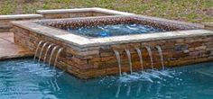 Custom Inground Spa, Hot Tubs Designs By Artesian Custom Pools Designers and Constructors n Plano, Dallas
