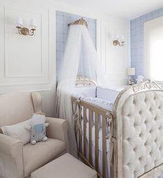Baby Girl Crib Bedding, Baby Boy Cribs, Baby Boy Nursery Themes, Baby Bedroom, Baby Boy Rooms, Baby Decor, Nursery Room, Light Blue Nursery, Prince Nursery
