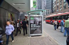 MEC  - Transit Shelter #OOH #Advertising #Toronto #OutdoorAdvertising