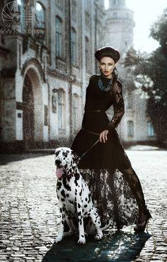 Confrontation of Queens by Viktoria Bolkina_dalmata_luxury_fashion_photography