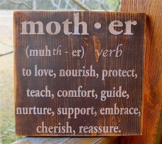 MOTHER subway sign Definition Makes a GREAT by AmericasFrontPorch, $28.00