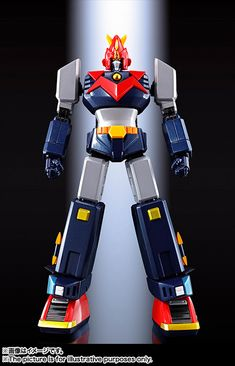 Soul of Chogokin Super Electromechanical Vortices V FA 02 Old Cartoon Movies, Old Cartoons, Super Robot Taisen, Big Robots, Vintage Robots, Mecha Anime, Robot Art, Geeks, Action Figures