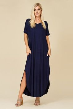 6900b8185 Ashley Essential Maxi Dress : Navy – GOZON Boutique Beautiful Clothes,  Beautiful Outfits, Final
