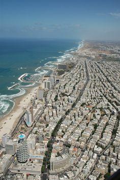 Stand for Israel   Photo Friday visits the Tel Aviv coastline