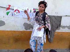 Teaching street children India