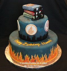 Divergent Cake could I have this for my next bithday?
