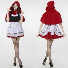 Nuevo Diseño de Halloween Adulto Caperucita Roja Cosplay de Las Mujeres(China…