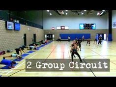 2 Group Circuit - Boot Camp Training Ideas - YouTube